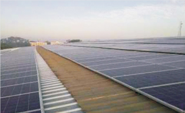 175 KWp at Pragati Glass