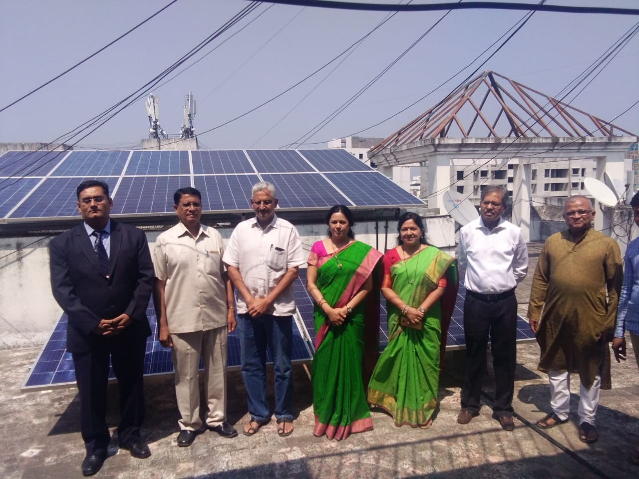 35KW On-Grid Rooftop Solar power plant with Net metering at Residential Society in Kothrud